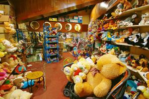 Discretion in play: The soft toys section in Landmark in Bangalore sports an abandoned look. Sales have fallen sharply in Bangalore, Gurgaon and Pune, says Landmark's Himanshu Chakrawarti. Hemant Mish