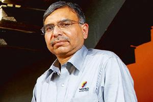 Assured business: Joint CEO of Wipro Technologies Girish Paranjpe. Hemant Mishra / Mint