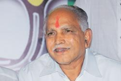 Second chance: Karnataka chief minister B.S. Yeddyurappa. The BJP needs to win three of the eight seats to get a simple majority of 113. Hemant Mishra / Mint