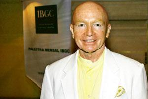 Growth potential: Templeton executive chairman Mark Mobius says China, India and Russia have booming economies and there's no reason why they should not be the first ones to get the attention of inve