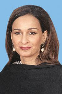 Confirmation: Pakistan's information minister Sherry Rehman. PID Pakistan