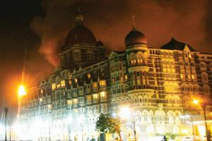 Attack site: A 27 November picture of Taj hotel in Mumbai. Arko Datta / Mint