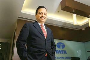 Quite hopeful: Praveen Kadle, Tata Capital managing director, says his company will 'learn from the mistakes' of other NBFCs and is in an 'advantageous position' at a time when NBFCs are strapped for