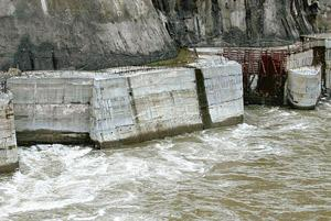 Down the drain? A hydroelectric power project in Arunachal Pradesh. NHPC is currently building 12 projects with a capacity of 5,322MW. Indranil Bhoumik / Mint