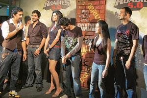 On a high: MTV Roadies 5. Youth today are looking for 'unlicensed thrills' and high-adrenalin drama. Hindustan Times