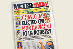 New plans: Metropolitan Media Co. Ltd, that publishes Metro Now, will launch weeklies targeting Gurgaon and Noida readers.