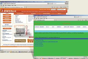 Controversy: ICICI Bank's website and Chuandong Xu's Icicigroup.com.