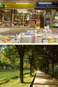 Landmarks:(above) Blossom deals in discounted books; and Cubbon Park. Hemant Mishra / Mint