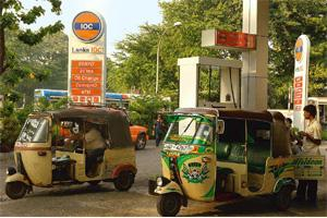 Selling more: An IOC service station in Colombo, Sri Lanka. The firm will open 300 outlets. Dominic Sansoni / Bloomberg