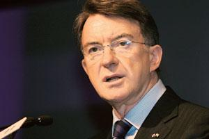 Help at hand: UK business secretary Peter Mandelson. B Mathur / Reuters