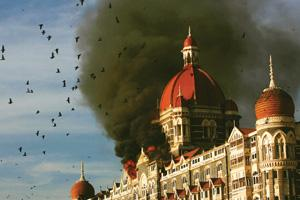 Lesson not learnt: A 27 november picture of the Taj Mahal hotel under terrorist attack. Funds utilization in 2006-07 fell sharply from the year -ago period, though terror attacks actually rose during