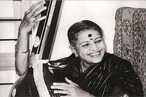 Voice of god: Subbulakshmi was overwhelmed by Gandhi's praise. Hindustan Times Archives