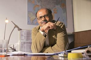 New challenge: A file photo of G.R. Gopinath, founder of low-fare carrier Air Deccan, who is writing the story of his life. Hemant Mishra / Mint