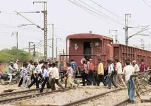 Double benefit: The Railway Board decided to build more overbridges after it noticed a steep rise in accidents at unmanned railway crossings. Ramesh Pathania / Mint