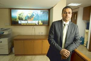 On the right track: Viewers have voiced their preference for an alternative to movies and sitcoms, says Rahul Johri, senior vice-president and general manager, Discovery Networks (India) Asia-Pacific.