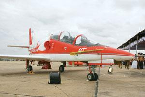 Late flight: The much delayed intermediate jet trainer will now take off in March. Hemant Mishra / Mint