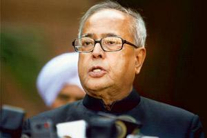 Geared up: External affairs minister Pranab Mukherjee, also holding the finance portfolio for now, is to present the interim budget on Monday. Manish Swarup / AP