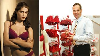 I feel good: Men should take help when buying lingerie, says Allenstein.