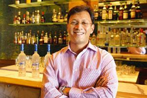 Establishing presence: Mahesh Madhavan, president and CEO of Bacardi-Martini India, says the firm has already set up a good distribution network in the country and the next thing is to expand the bran