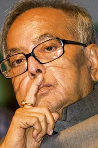 Sweet relief: Stand-in finance minister Pranab Mukherjee. Ramesh Pathania / Mint