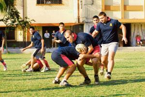 Dominating performance: Armenian College and Philanthropic Academy's students at their central Kolkata campus. Last year, 12 of the 15 players who represented India at the under-19 level were Armenian