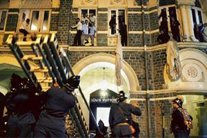 Incorrect approach: Don't use the 26/11 attacks as a means to discipline. Lorenzo Tugnoli / AFP