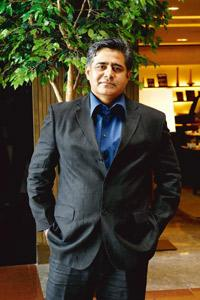 Worldwide network: Sawhney says he's now friends with 150 CEOs. Abhijit Bhatlekar / Mint