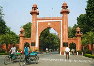 Status-conscious? A file photo of the Aligarh Muslim University, which has long demanded a minority status. DK Sharma / HT