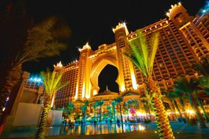 Changing times: The Atlantis Hotel in Dubai, United Arab Emirates. The hotel is an example of how oil-rich countries enjoying rapid growth in commodity revenues embark on grand and expensive projects