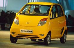 Limited stocks: Tata Motors unveiled the Nano last year aiming to sell it at Rs1 lakh, almost half the price of the country's next cheapest model. Ramesh Pathania / Mint