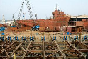 State support: An ABG shipyard in Surat, Gujarat.The govt move will help shipbuilders claim subsidy on orders worth Rs5,306 crore. Ashesh Shah / Mint