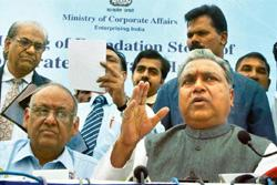 Thinking positive: Corporate affairs minister P.C. Gupta said on Sunday that he was confident SFIO would complete its Satyam probe in time. AP