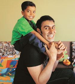 Sandip Soparrkar wants his son Arjun to know that men and women have different points of view on most subjects. Abhijit Bhatlekar / Mint