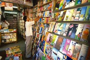 Browser-friendly: Majestic Book Depot stocks translations of popular English best-sellers. Abhijit Bhatlekar / Mint
