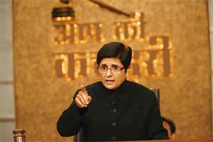 Swift justice: So far, Bedi has heard around 100 cases on the show.