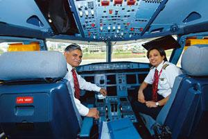 Surplus commodity? Pilots' salaries are under the scanner as airlines seek to cut costs. Hemant Mishra / Mint