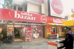 Trouble in store: A Sabka Bazaar outlet in New Delhi. Wadhawan Food Retail, which runs the retail chain, had plans to set up 10 hypermarts. Hindustan Times