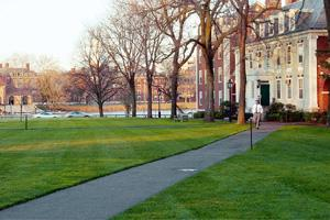 Systemic failure? Harvard Business School in Boston, Massachusetts. On many campuses, changes are under way in courses and curriculums. Some schools are heightening their focus on long-term thinking o