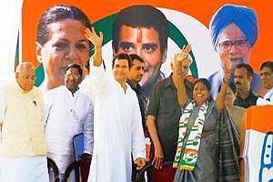 Star power: All India Congress Committee general secretary Rahul Gandhi campaigning in Dhamtari on Wednesday. In the previous assembly election, the Ajit Jogi-led Congress government was voted out of