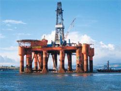 Valuable asset: Essar Wildcat, the sole deep-water rig is expected to fetch, along with other offshore assets, up to $50 mn in revenue in Q4.