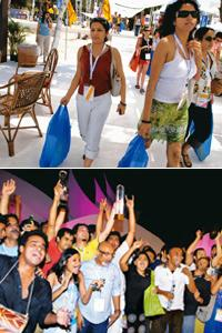 Time out: Snapshots from Goafest 2008. Abhijit Bhatlekar / Mint