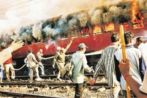 A history of violence: The 2002 Godhra tragedy in Gujarat triggered riots in the state in which around 1,000 people died. AP