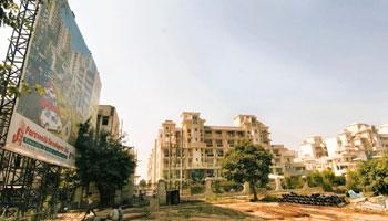On the defensive: A file photo of Parsvnath Developers' Green Ville residential property in Gurgaon. Ramesh Pathania / Mint