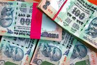 Strengthening currency: The rupee advanced 0.6% to 50.05 per dollar at close in Mumbai on Monday, off an early high of 49.88. Bloomberg