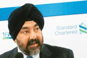 'Not desperate': Standard Chartered Asia chief Jaspal Bindra said his company would not go overboard on any acquisition. Bloomberg