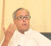 Optimum use: Pranab Mukherjee, acting finance minister & eGoM head. Indranil Bhoumik / Mint