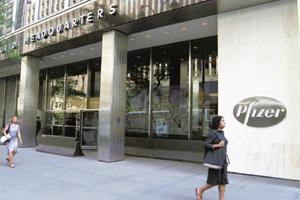 More control: Pfizer headquarters in New York. The newly introduced product patent regime in India is encouraging multinational companies to seek control of their local subsidiaries. Joe Tabacca / Blo