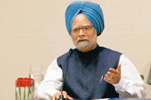 Comparing figures: Prime Minister Manmohan Singh before leaving for the G-20 summit in London said foreign and private lenders were not extending credit facilities despite a slew of rate cuts by the
