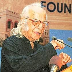 Fair mechanism: Chairman of the higher education panel, Yash Pal.