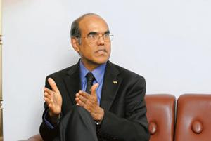 Central view: RBI governor D. Subbarao. RBI said the structural components of the economy remain intact, but slump in industrial production, deceleration in demand, and declining exports are major con